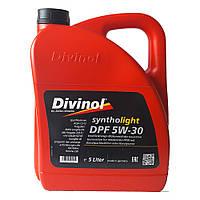 Моторное масло для легковых автомобилей Divinol Syntholight DPF 5W-30 5л