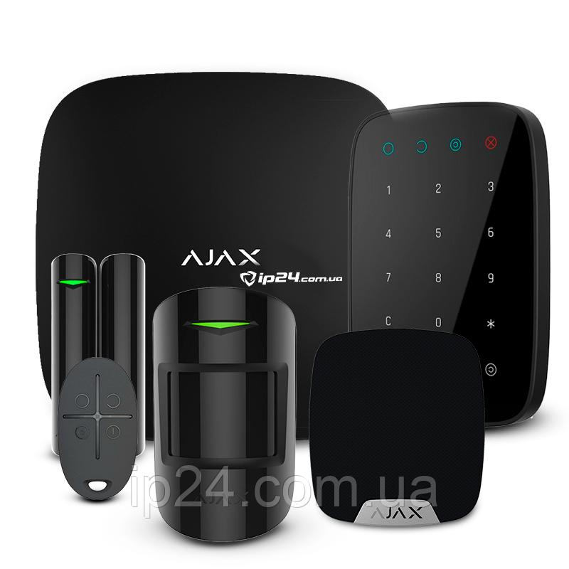 Комплект Ajax StarterKit + KeyPad + HomeSiren black