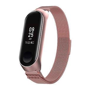 Ремешок BeWatch Миланская петля для Xiaomi Mi Band 3 S Розовый (1040211), фото 2