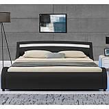 Ліжко з пультом MALA 140х200 см з LED підсвічуванням!, фото 2