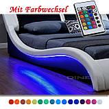 Ліжко з пультом MALA 140х200 см з LED підсвічуванням!, фото 8