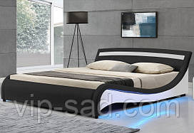 Кровать с пультом MALA 140х200 см. с LED подсветкой!