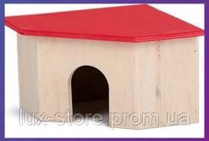 Природа дом для грызунов угловой большой ( 29*29*20 см )