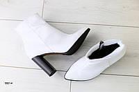 Женские демисезонные ботинки на каблуке, фото 1