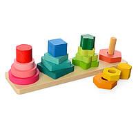 Деревянная игрушка Геометрика MD 1216, фото 1