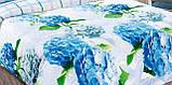 """Комплекты постельного белья 3D-коллекции """"Гортензия"""". Ивановский Поплин. Хлопок 100%., фото 3"""