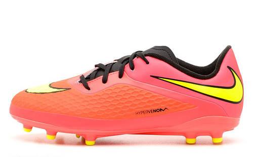 1f4e4389 Футбольные бутсыNike JR HYPERVENOM PHELON FG 599062-690: продажа, цена в  Днепре. футбольная обувь от
