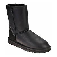 UGG женские Classic Short Leather II черные 37 р., фото 1