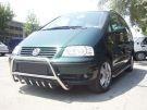 Защитные дуги на Volkswagen Sharan