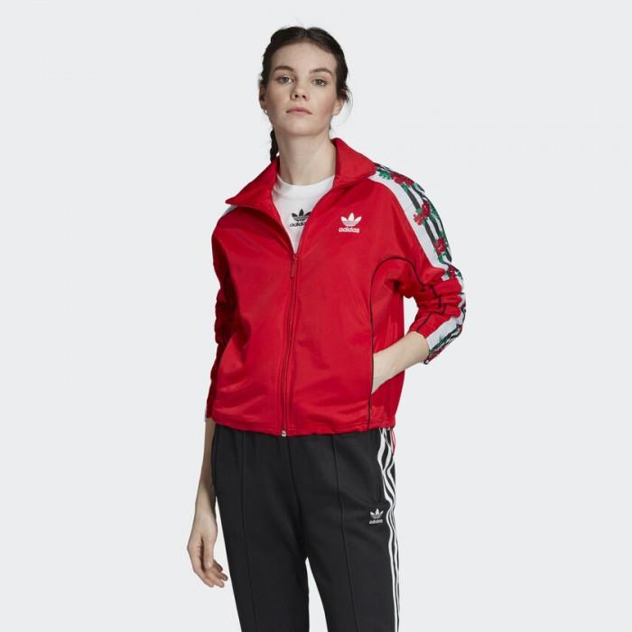 Женская олимпийка Adidas Originals 3-Floral Stripes EH8726