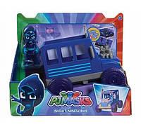 Герои в масках Нинзялино  PJ Masks Vehicle & Figure Night Ninja Bus