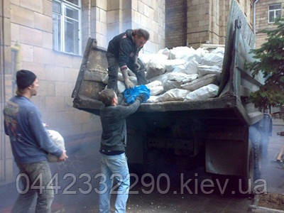 Вывоз строительного мусора с погрузкой, фото 1