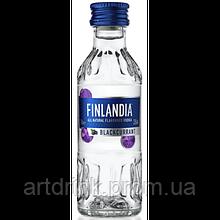 Altia Corporation Finlandia Blackcurrant Vodka 0.05L