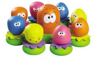 """Игрушки для купания """"Разноцветные осьминожки"""" Tomy"""