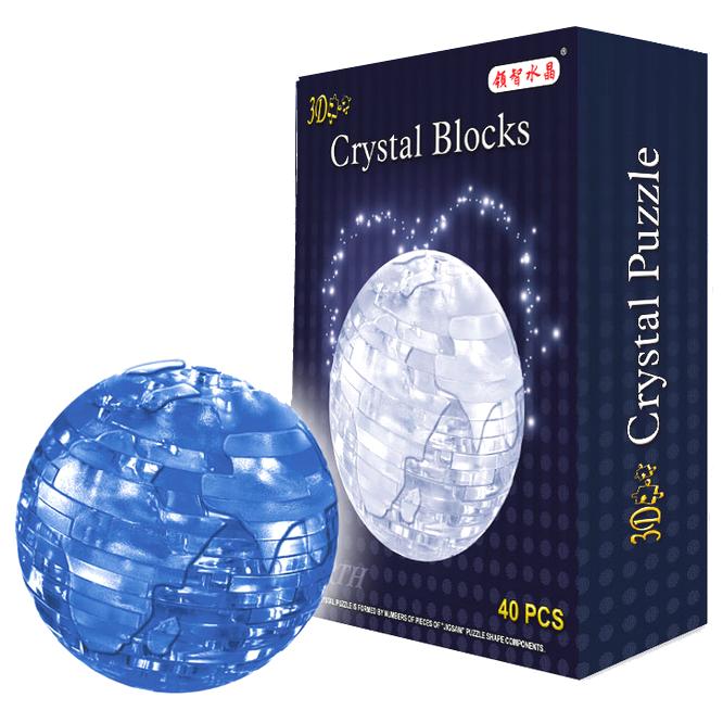 Пазлы 3D- кристалл 9040A Земля