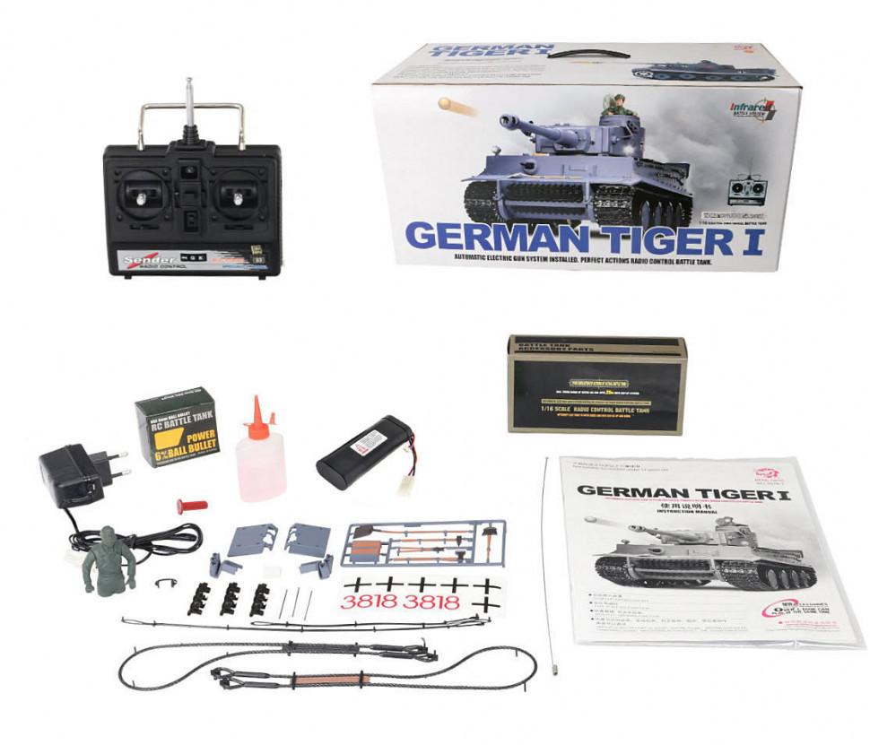 Танк HENG LONG German Tiger 3818-1
