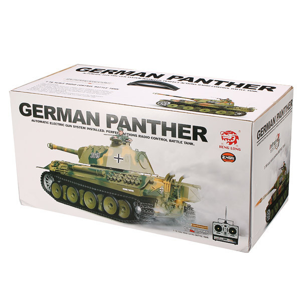 Танк HENG LONG German Panther 3819-1-IR