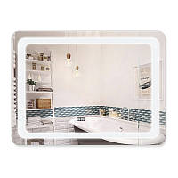 Зеркало с антизапотеванием Q-tap Mideya LED DC-F908 800х600 мм, фото 1