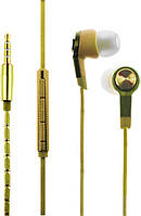 Наушники TOTO Наушники TOTO Earphone Mi5 Metal Gold F_52623