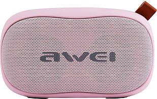 Акустическая система AWEI Портативная акустика AWEI Y900 Bluetooth Speaker Pink F_52868