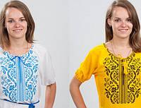 Новые летние вышитые блузы для милых дам