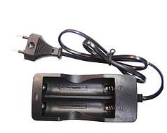 Зарядное устройство на 2x18650 от сети 220V DOUBLE Зарядка для аккумуляторов