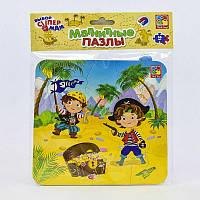 "Гр Магнитные пазлы ""Пираты"" - VT 3204-09 (рус) (60) ""Vladi Toys"""