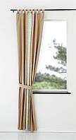 Занавеска SAVALEN 140x175см, коричневый