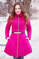 Женское пальто с юбкой