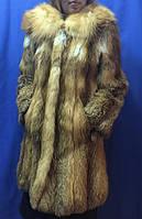 Шуба из меха лисы., фото 1