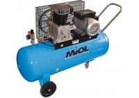 Поршневой масляный компрессор 100л 500л/мин Миол 81-195