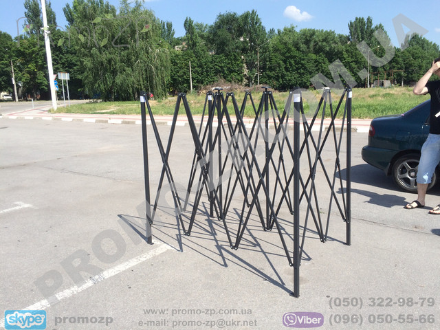 Каркас шатра раздвижного. Раздвижной шатер купить в Киеве с бесплатной доставкой.