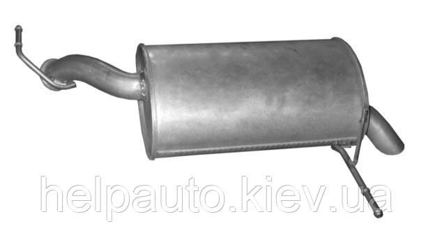 Глушитель для Peugeot 407