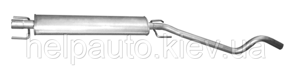 Резонатор для Opel Astra