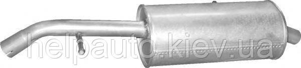 Глушитель для Citroen C2, C3 / Peugeot 1007