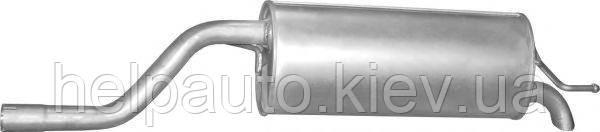 Глушитель для Fiat Grande Punto / Opel Corsa