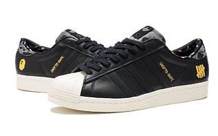 Кроссовки мужские Adidas Superstar 80s / ADM-562 (Реплика)