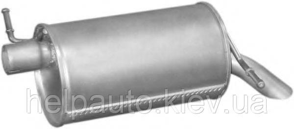 Глушитель для Ford Galaxy / Seat Alhambra /  VW Sharan