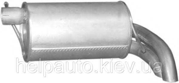 Глушитель для Ford Galaxy / Seat Alhambra / Volkswagen Sharan