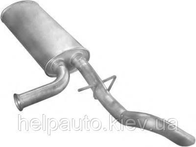 Глушитель для Nissan Interstar / Opel Movano / Renault Master