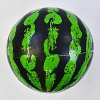 """Мяч детский резиновый С 34556 (500) """"Арбуз"""" 60 грамм, 9 дюймов."""