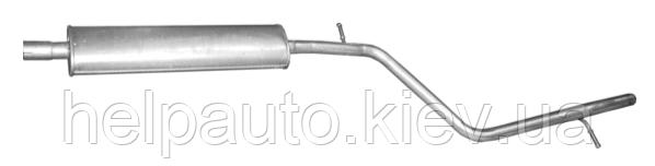 Резонатор для Dacia Logan