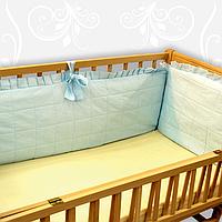 Мягкие бортики по периметру детской кроватки 40см