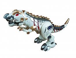Динозавр на радиоуправлении SS858, высота 43 см (Белый)