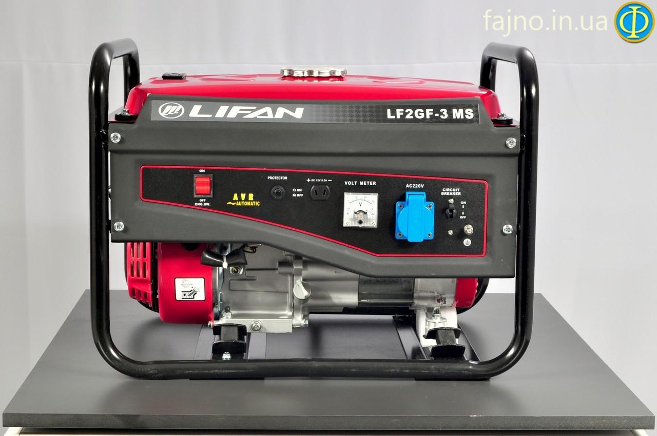 Электростанция газ/бензин Lifan LF2GF-3MS (2,2 кВт)