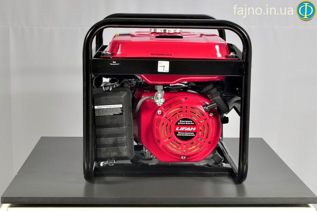 Электрогенератор газ-бензин Lifan LF2GF-3MS ― фото 2