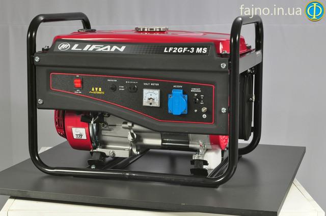 Генератор на газу Lifan LF2GF-3MS ― фото 3