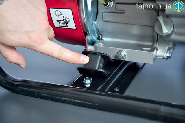 Генератор комбинированный газ-бензин Лифан виброгасящая подушка , фото 7