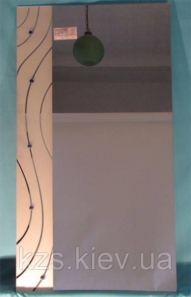 Зеркало с декоративным украшением арт.02.8.5