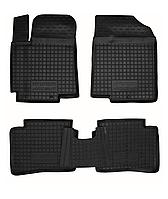 Полиуретановые коврики в салон Hyundai Accent IV (RB) 2011- (AVTO-GUMM)